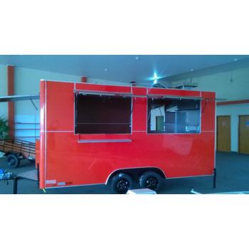 Food Truck Trailer Contêiner